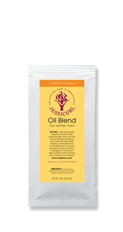 Oil Blend for Softer Hair from Jessicurl's line of conditioning products